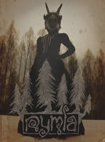 Nymla in the woods. by Nymla