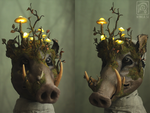 Forest Spirit Boar
