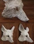DIY Blank fox masks - paint your own fox.