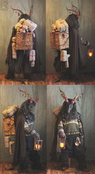 Yule Goat Costume #1 by Nymla