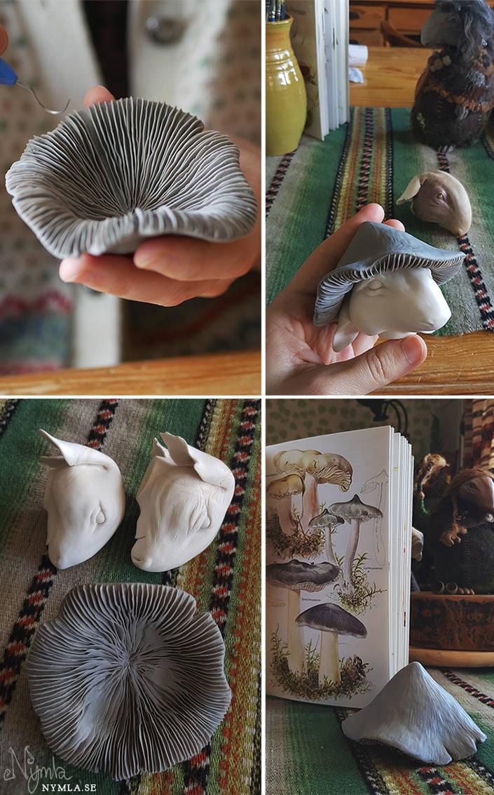 Mushroom WIP by Nymla