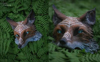 Warrior - Fox Mask by Nymla