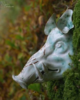 Autumn Boar Warrior