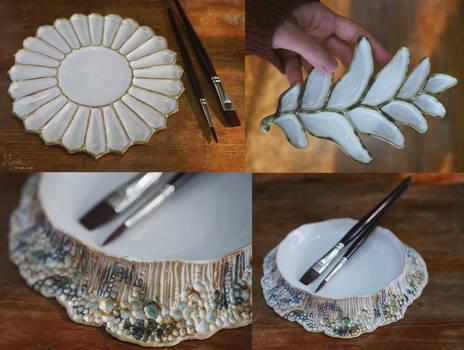 New Ceramic Paint Palettes