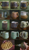 Woodborer Mugs (now in the shop!)