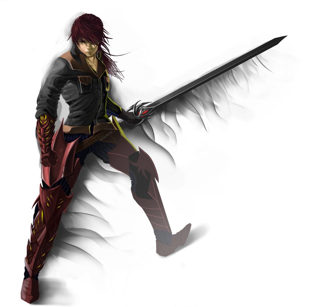 Warrior by Sketchitin