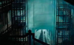 Blade Runner - Roy Entering Lobby