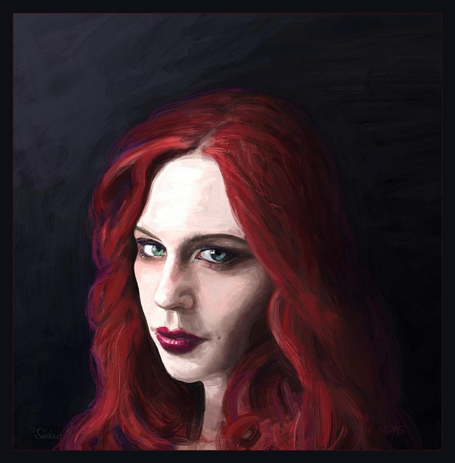 Portrait Jessica - Faestock by sedas