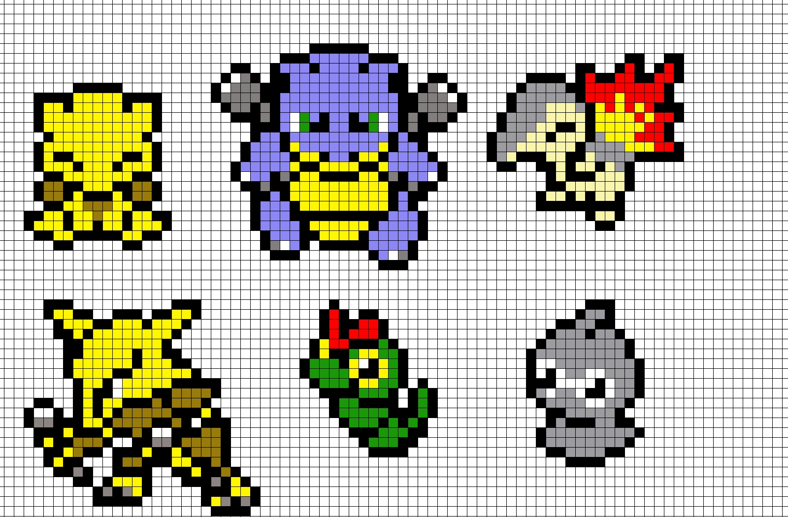 Minecraft Pixel Art Homer Simpson