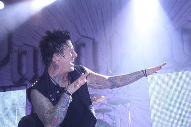 Jacoby Shaddix VII by Psycho-Drummer