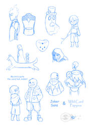 UT Card Sketchdump by S-Brucket