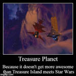 Treasure Planet Demotivational by Edward-Smee
