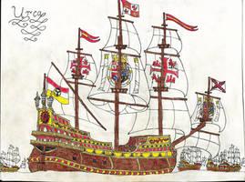 Spanish Urca by Edward-Smee