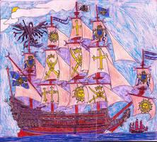 Le Leviathan Royal by Edward-Smee