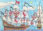 Sid Meier's Pirates! Jimmy Skagg's Santa Muerte by Edward-Smee