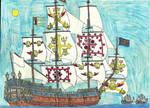 Warrenshire: HMS Wolfsbane by Edward-Smee