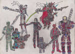 The Murchadha's Mandalorian Crew by Edward-Smee