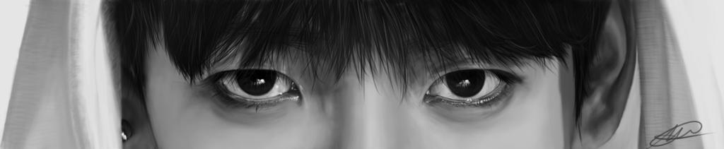 JungKook - Digital painting by darklady-ldr