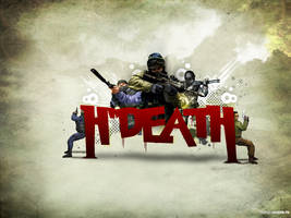 HiddenDeath wallpaper workout by muzzle-fx