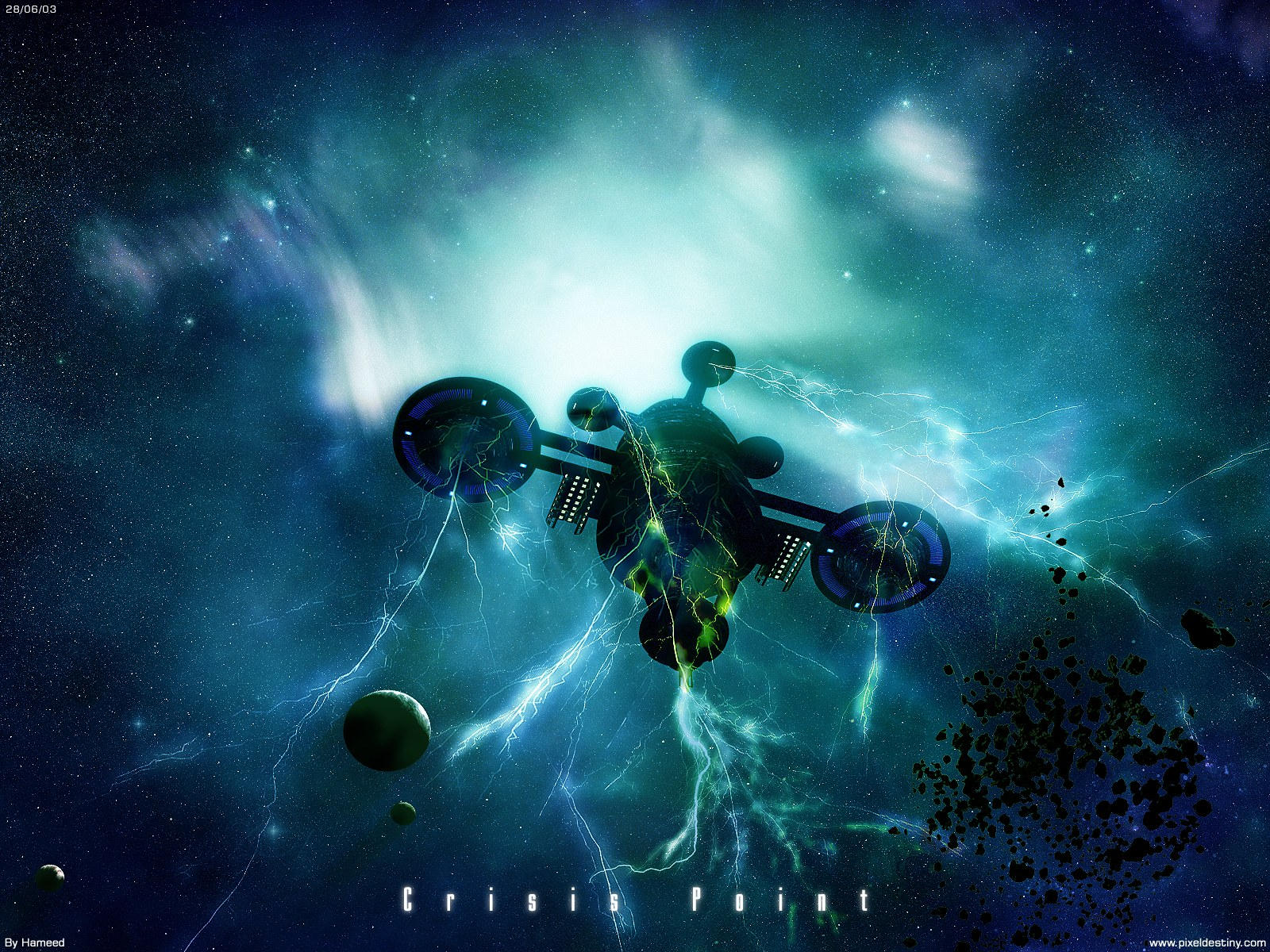 Crisis Point by Hameed