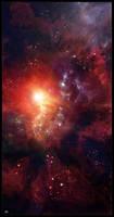 Rose Nebula by Hameed