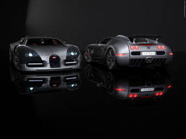 3D Bugatti Veyron 16.4-Carbon by Hameed