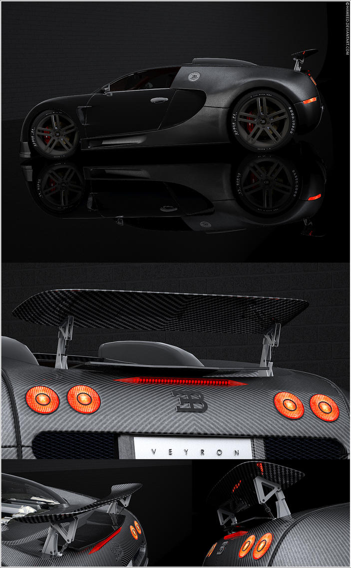 Bugatti Veyron 16.4 Views by Hameed