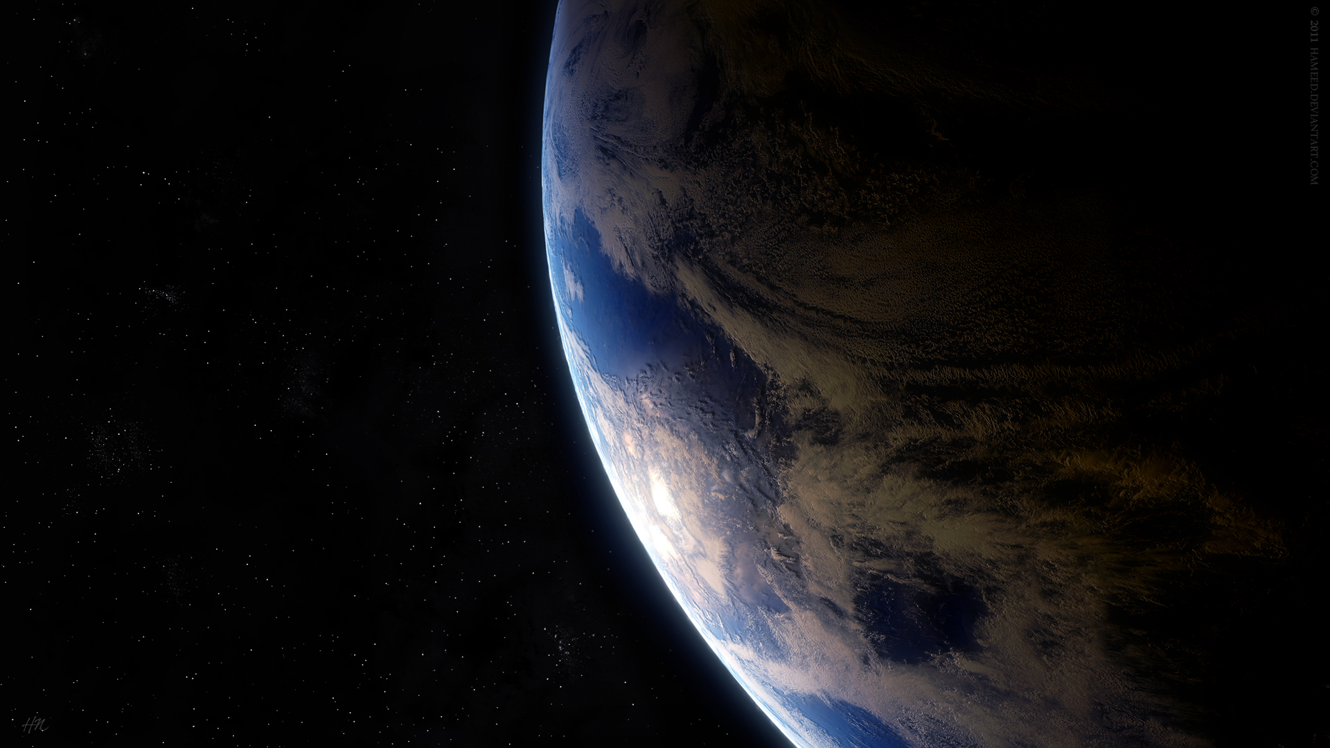Earth Wallpaper by Hameed