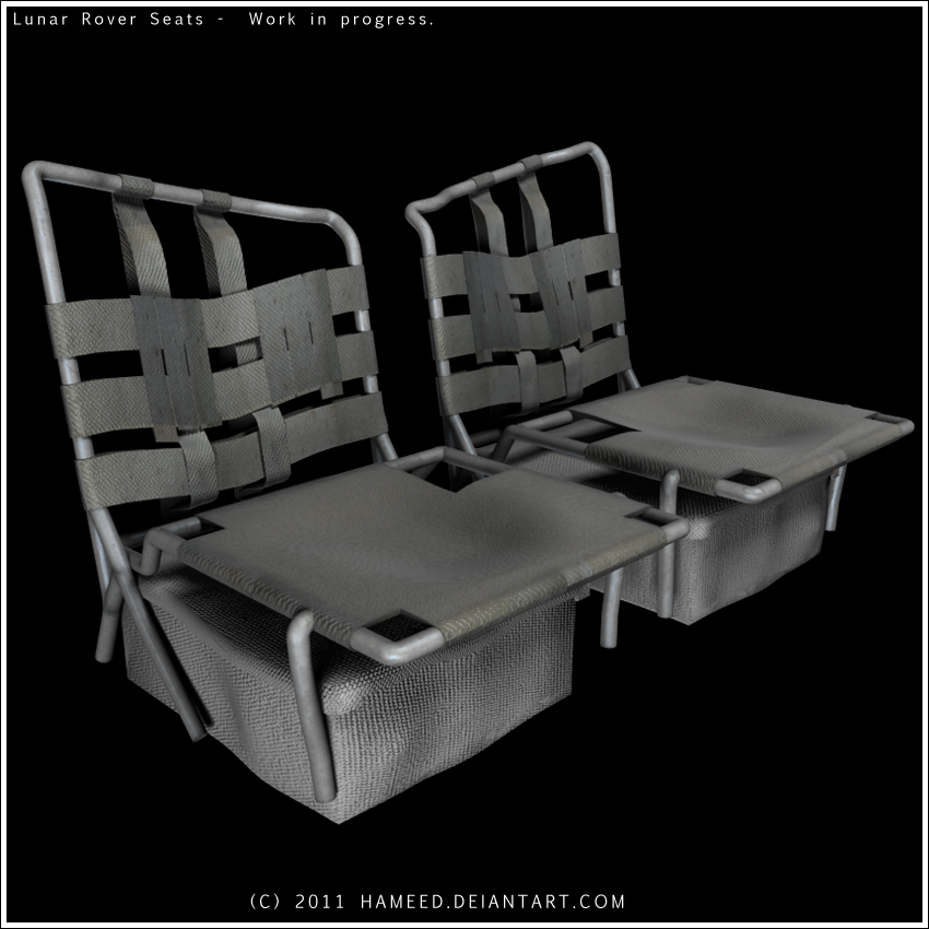 Lunar Rover Seats by Hameed