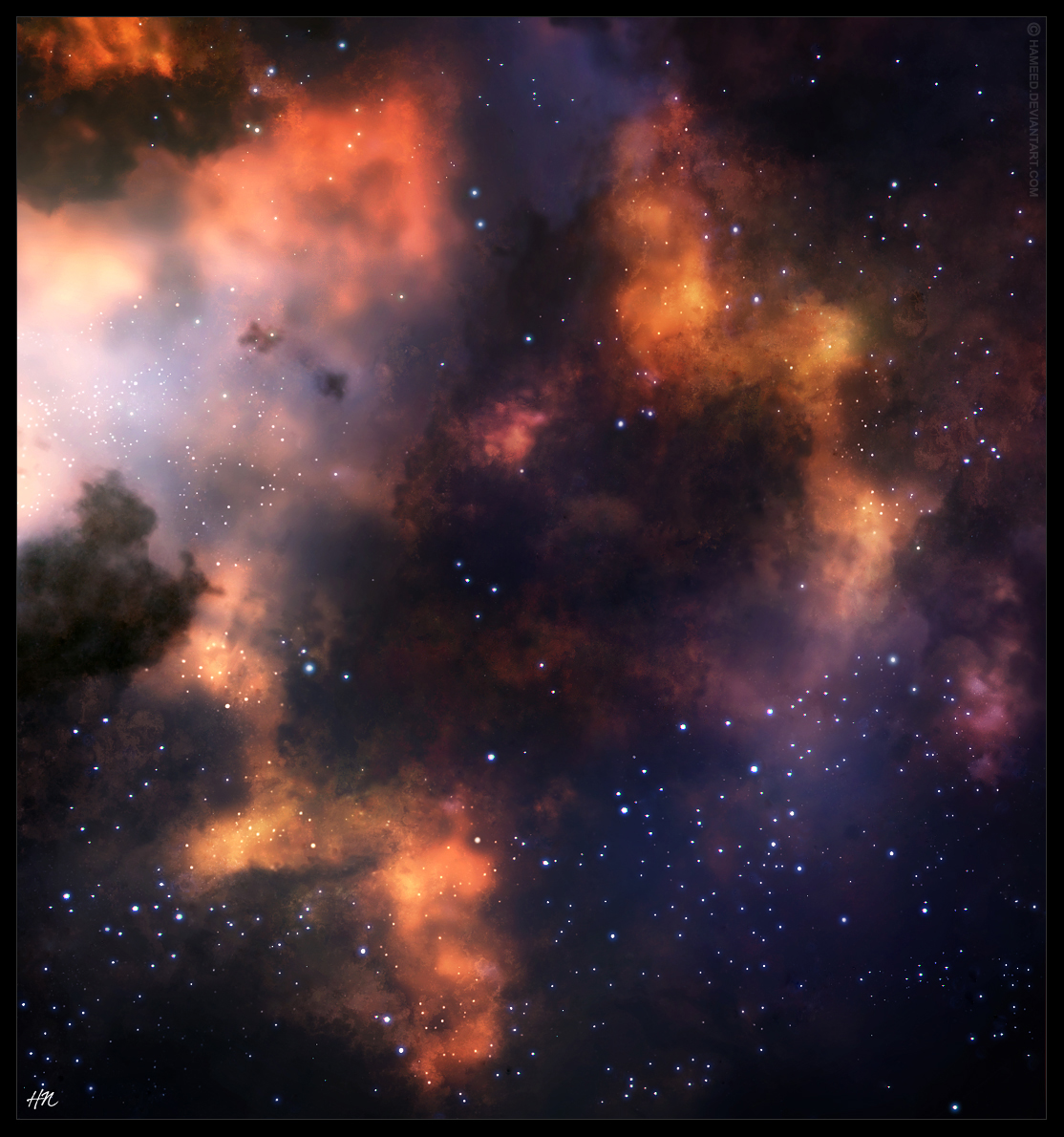 Stellar Factory by Hameed