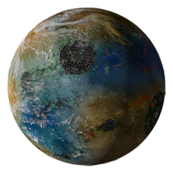 Assimilated Planet by Hameed