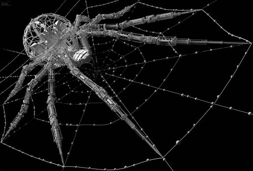 Arachnid  - Geometry detail (@~7Kpx ) by Hameed