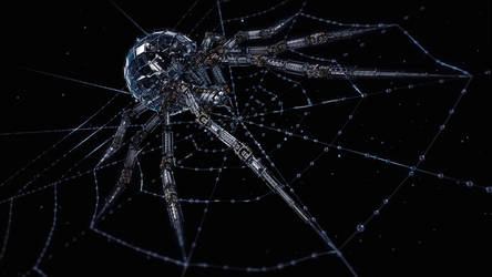 Arachnid Mech (1080p)