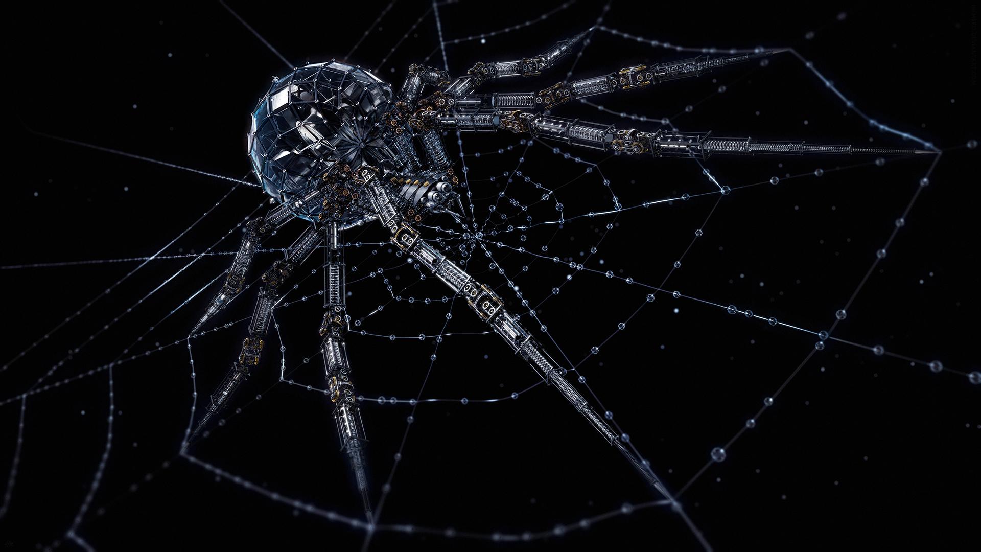 Arachnid Mech (1080p) by Hameed