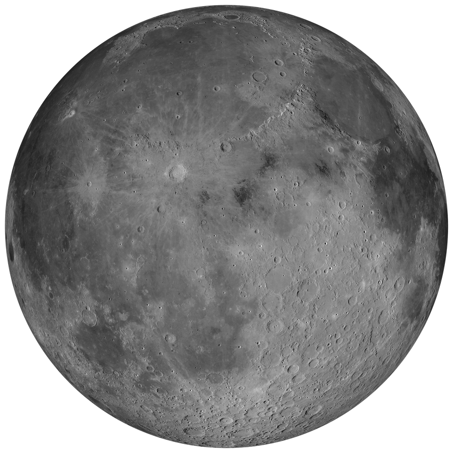 Moon 8K Stock by Hameed