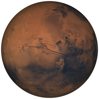 Mars 8K Stock 1of2 by Hameed