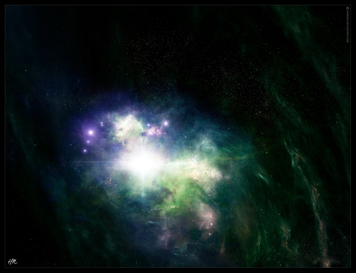 Mystic Nebula by Hameed