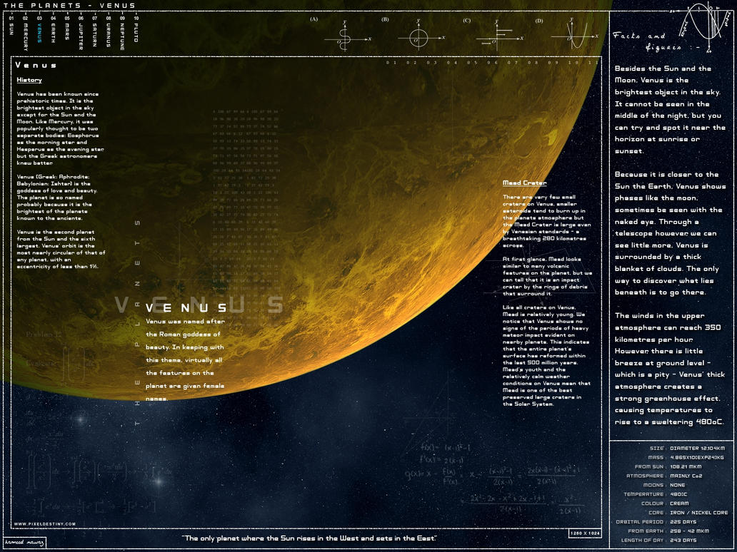 Venus - Scientific Ed by Hameed
