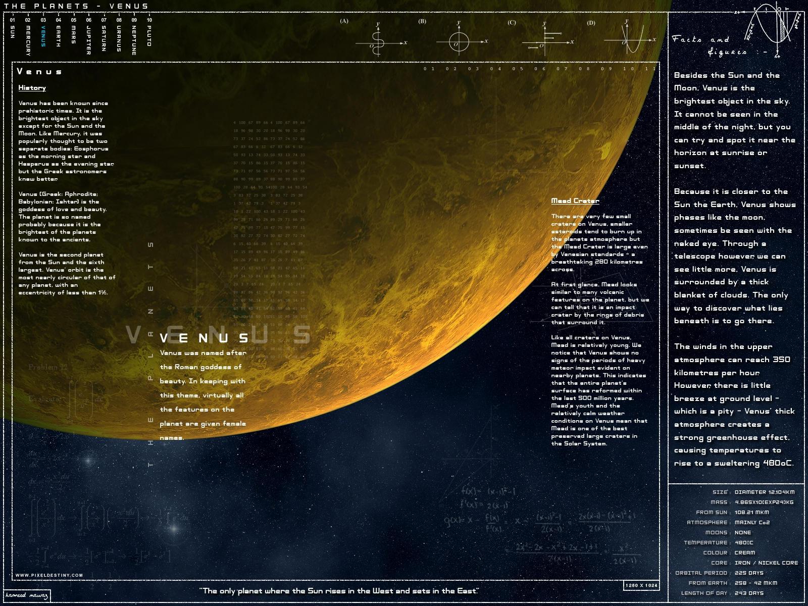 Venus - Scientific Ed by Hameed