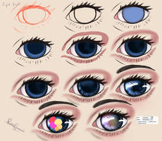 Step by Step Eye Tut