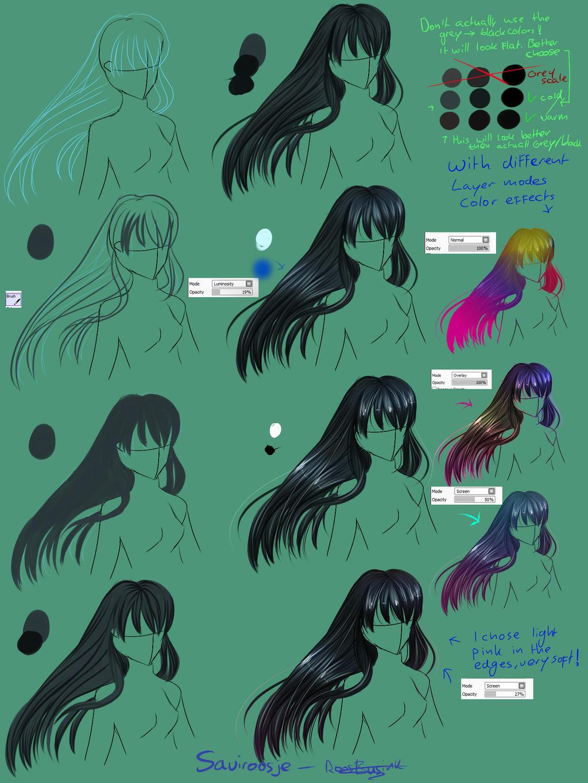 Step By Step - Black Hair tut by Saviroosje
