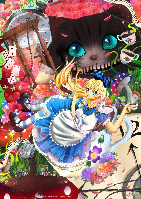 ..Alice In wonderland.. by Saviroosje on DeviantArt