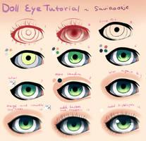 Step by Step - Doll Eye Tutorial by Saviroosje
