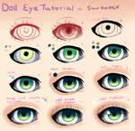 Step by Step - Doll Eye Tutorial