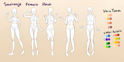 .Female Pose Reference.