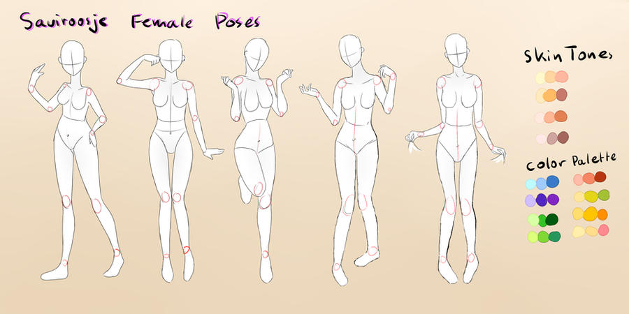 .Female Pose Reference. by Saviroosje on DeviantArt