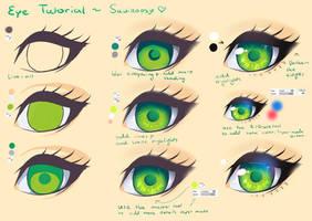 Step by Step - Green Eye Tutorial by Saviroosje