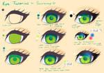 Step by Step - Green Eye Tutorial