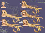 Step by Step - Rapunzel hair TUTORIAL