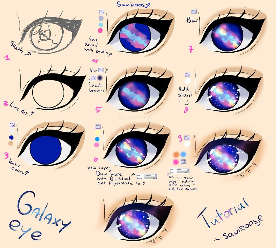 Galaxy Hair Color Tumblr